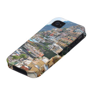 Beautiful Positano, Italy Vibe iPhone 4 Cases