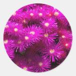Beautiful Pretty Purple Flowers Custom Gifts Stickers