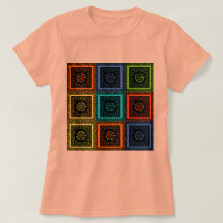 Beautiful Pretty Uniquely Exceptional Girly Colors T-Shirt