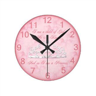 Beautiful Princess Clock