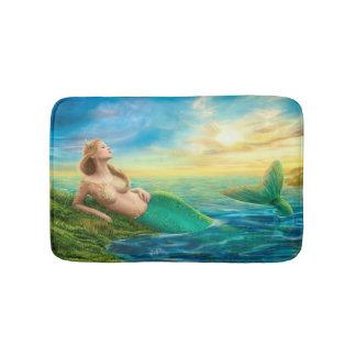 Beautiful princess- fantasy mermaid  Bath Mat