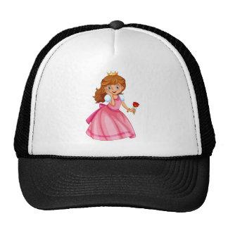 Beautiful princess trucker hats