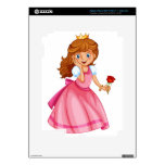 Beautiful princess iPad 3 decal