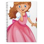 Beautiful princess note book
