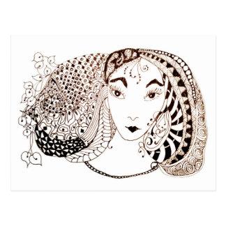 Beautiful Princess Postcard