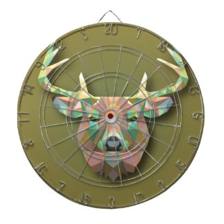Beautiful print Moose bringing with it all prosper Dartboard With Darts