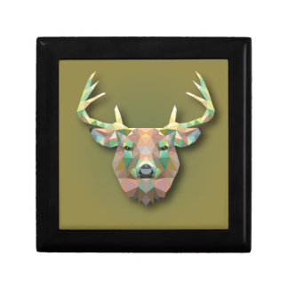 Beautiful print Moose bringing with it all prosper Jewelry Box