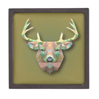 Beautiful print Moose bringing with it all prosper Keepsake Box