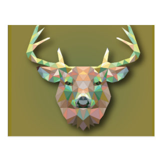 Beautiful print Moose bringing with it all prosper Postcard