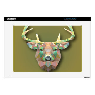 Beautiful print Moose bringing with it all prosper Skin For Laptop