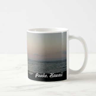 Beautiful Puako, Hawaii sunset Coffee Mugs