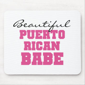 Beautiful Puerto Rican Babe Mouse Pad