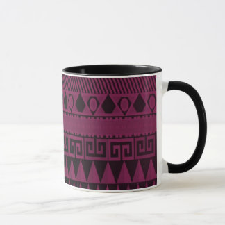 Beautiful Purple Aztec Pattern Mug