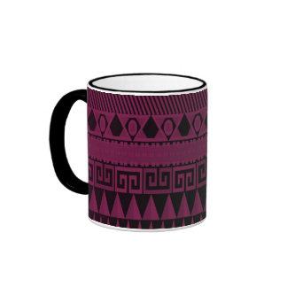 Beautiful Purple Aztec Pattern Mug