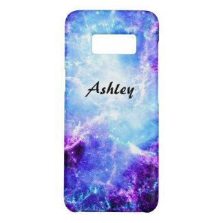 Beautiful Purple Blue Space Stars Galaxy S8 Case