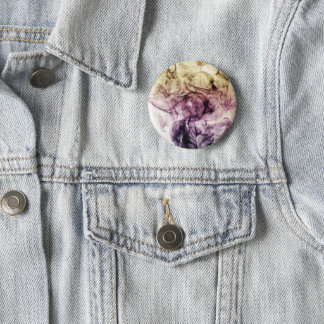 Beautiful Purple Brown Smoky Dust Pinback Button