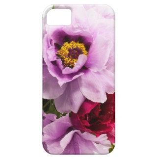 Beautiful Purple Dark Pink Flowers Floral Bouquet iPhone SE/5/5s Case