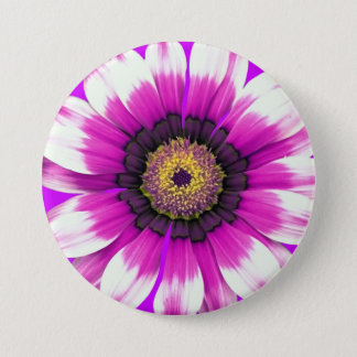 Beautiful purple flower button