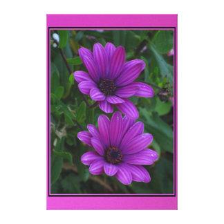Beautiful Purple Flowers Canvas Print