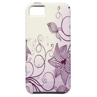 Beautiful Purple Flowers iPhone 5 Cases