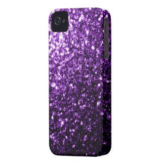 Beautiful Purple glitter sparkles iPhone 4 Case-Mate Cases