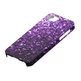 Beautiful Purple glitter sparkles iPhone SE/5/5s Case