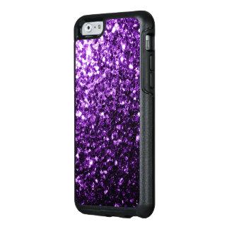 Beautiful Purple glitter sparkles OtterBox iPhone 6/6s Case