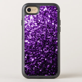 Beautiful Purple glitter sparkles OtterBox Symmetry iPhone 7 Case