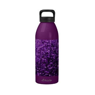 Beautiful Purple glitter sparkles Drinking Bottle