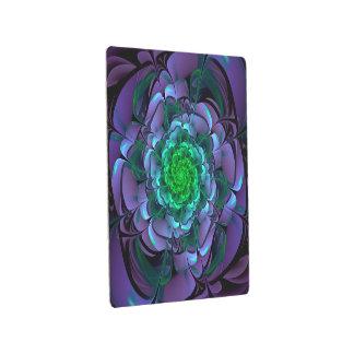 Beautiful Purple & Green Aeonium Arboreum Zwartkop Metal Print