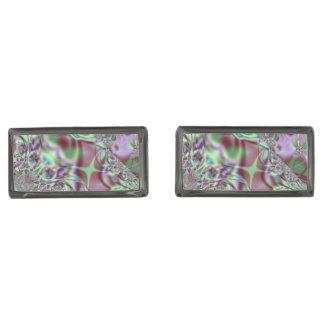 Beautiful Purple Lace Cufflinks