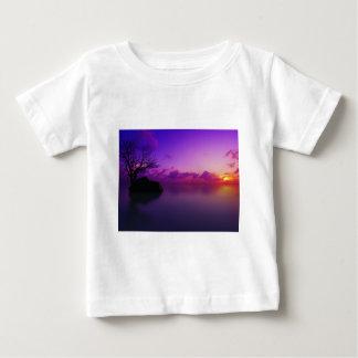 beautiful purple landscape tee shirt