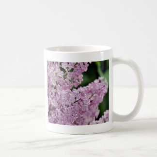 Beautiful purple lilac flowers print coffee mug