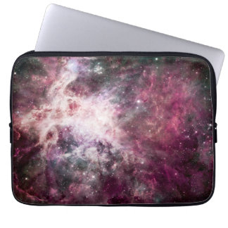 Beautiful purple nebula laptop sleeve