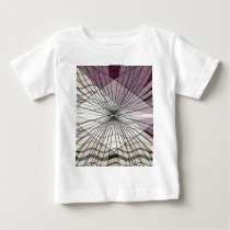 beautiful purple pattern design baby T-Shirt
