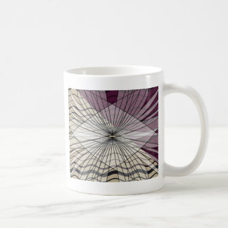 beautiful purple pattern design coffee mug