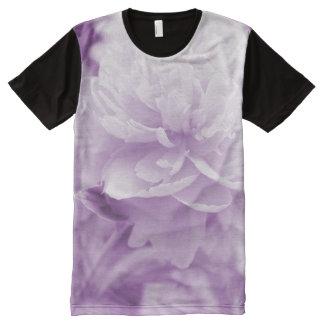 Beautiful Purple Peony All-Over Print T-shirt