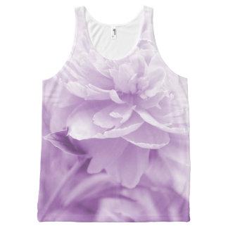 Beautiful Purple Peony All-Over Print Tank Top