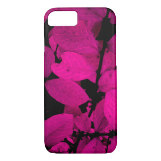 BEAUTIFUL PURPLE PINK LEAVES FOLIAGE iPhone 7 CASE