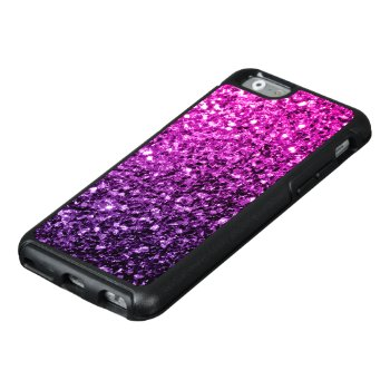 Beautiful Purple Pink Ombre Glitter Sparkles Otterbox Iphone 6/6s Case by PLdesign at Zazzle