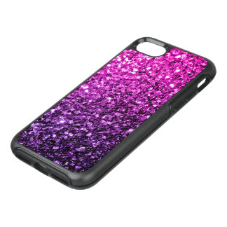 Beautiful Purple Pink Ombre glitter sparkles OtterBox Symmetry iPhone 8/7 Case