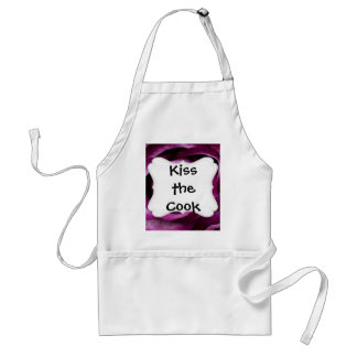 Beautiful Purple Rose Flower Petals Girly Gifts Adult Apron