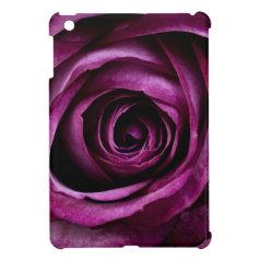 Beautiful Purple Rose Flower Petals Girly Gifts iPad Mini Cases