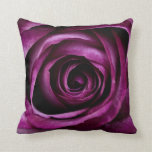 Beautiful Purple Rose Flower Petals Girly Gifts Pillows