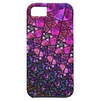 Beautiful Purple Stained Glass Pattern Case iPhone 5 Covers
