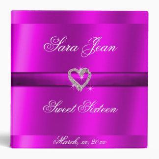Beautiful, Purple Sweet Sixteen Photo Album Binder