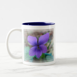 Beautiful Purple Wild Flower Mug