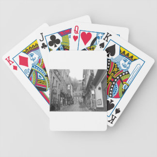 Beautiful Quebec City Bicycle Playing Cards