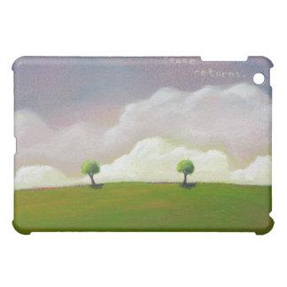 Beautiful quiet simple landscape art Peace Returns iPad Mini Case