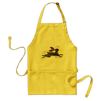 Beautiful Rabbit Art Apron